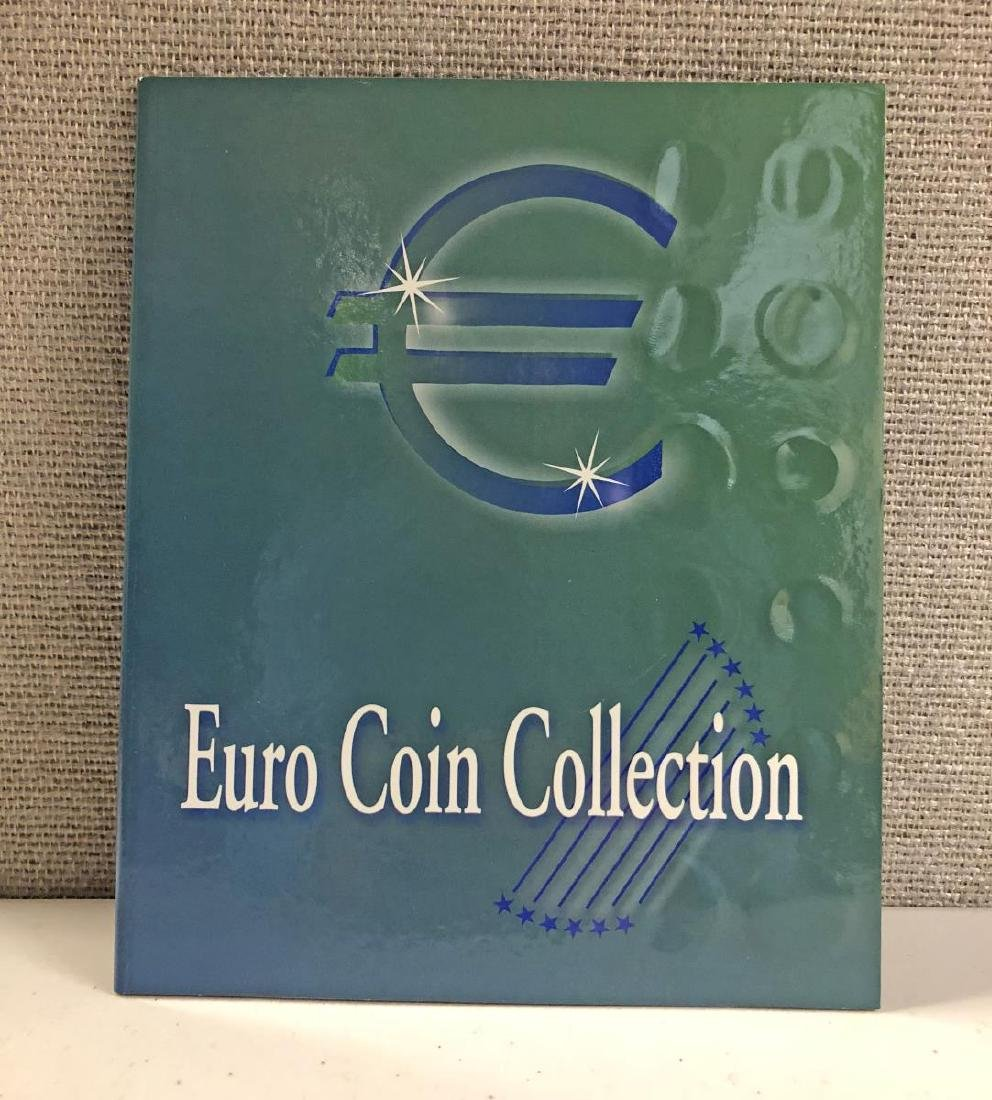 EURO Coin Collection in Educational Folder - 5