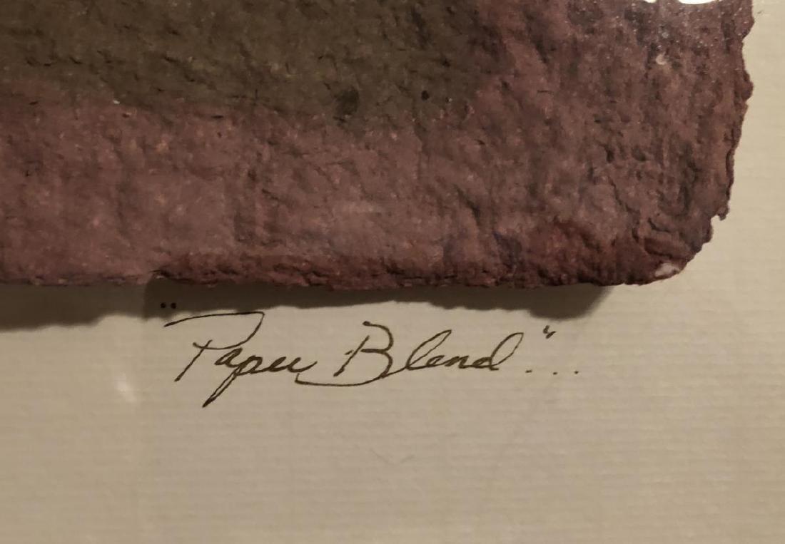 PAPER BLEND by Lori Kiplinger Original Mixed Media - 4
