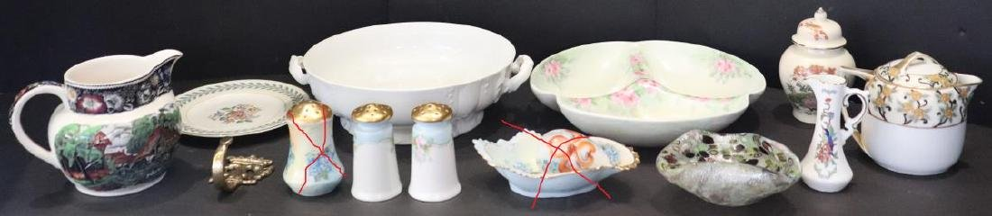 10 Miscellaneous China Pieces