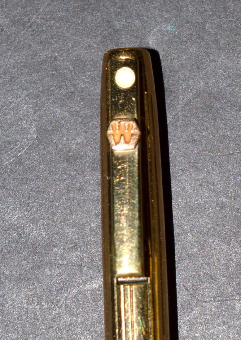 Vintage Sheaffer White Dot Pen & Pencil Set - 3
