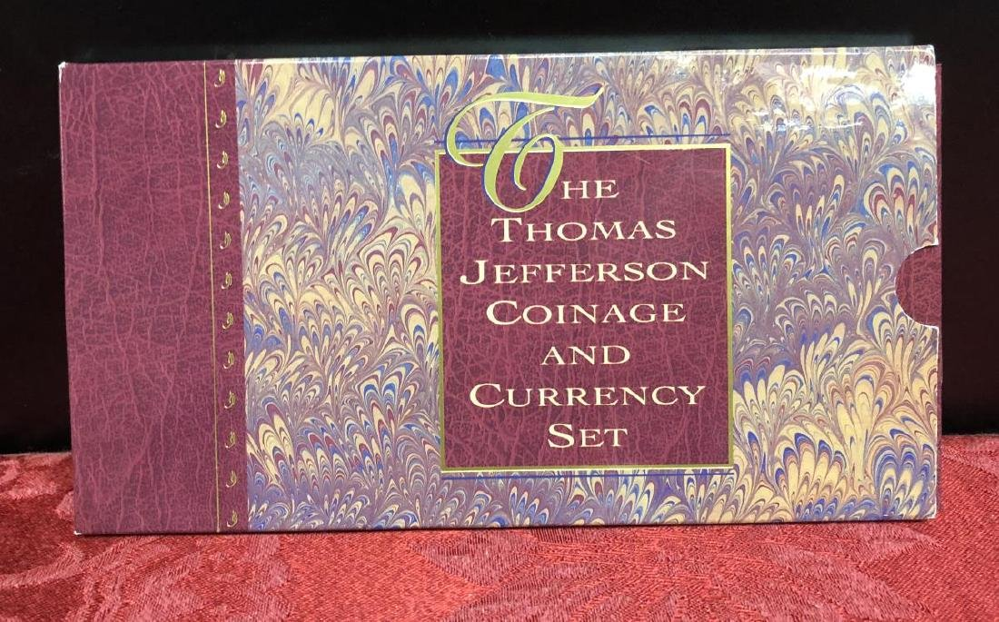 1994 Thomas Jefferson Coinage & Currency Set - 4
