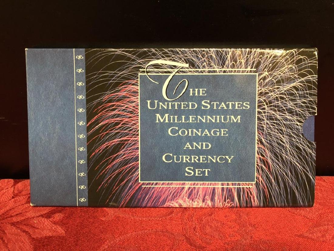 2000 US Millennium Coinage & Currency Set - 3