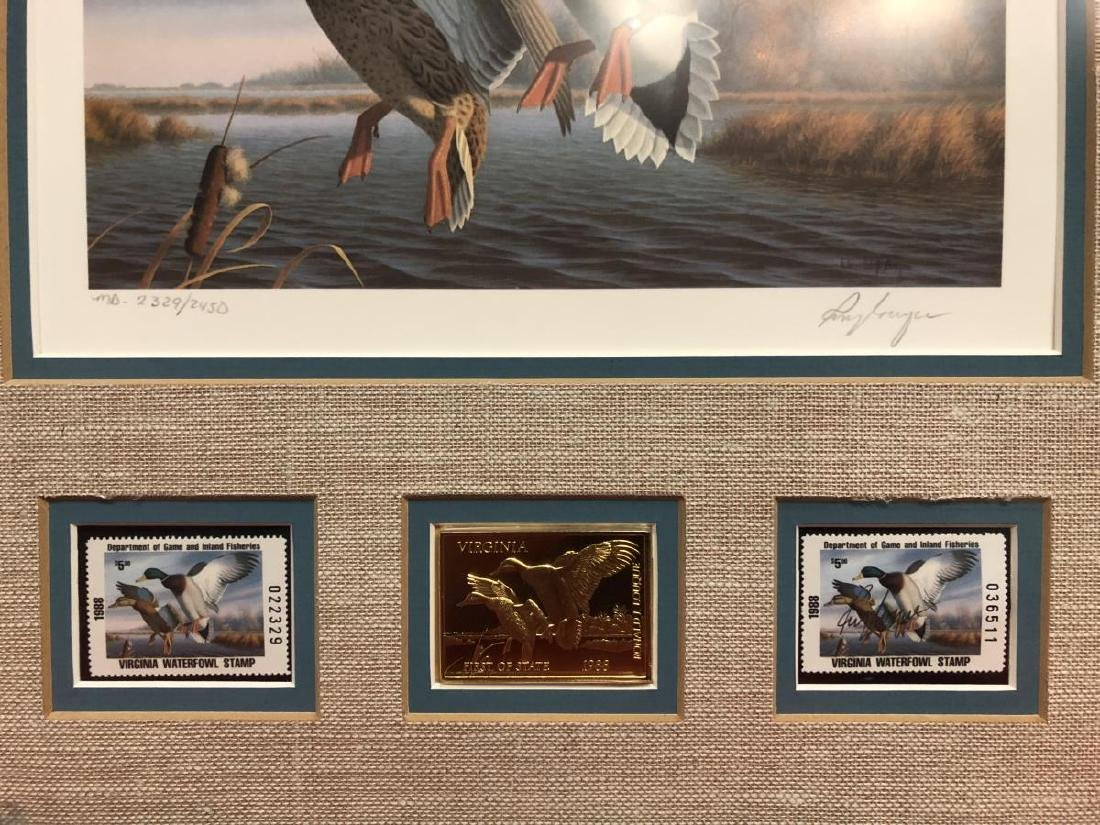 Lot of 3 Duck Stamp Prints 1985 1986 1988 - 10