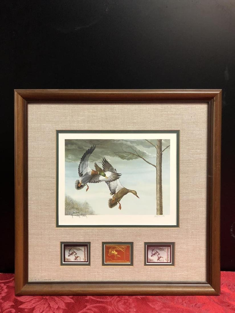 Lot of 3 Duck Stamp Prints 1985 1986 1988 - 2