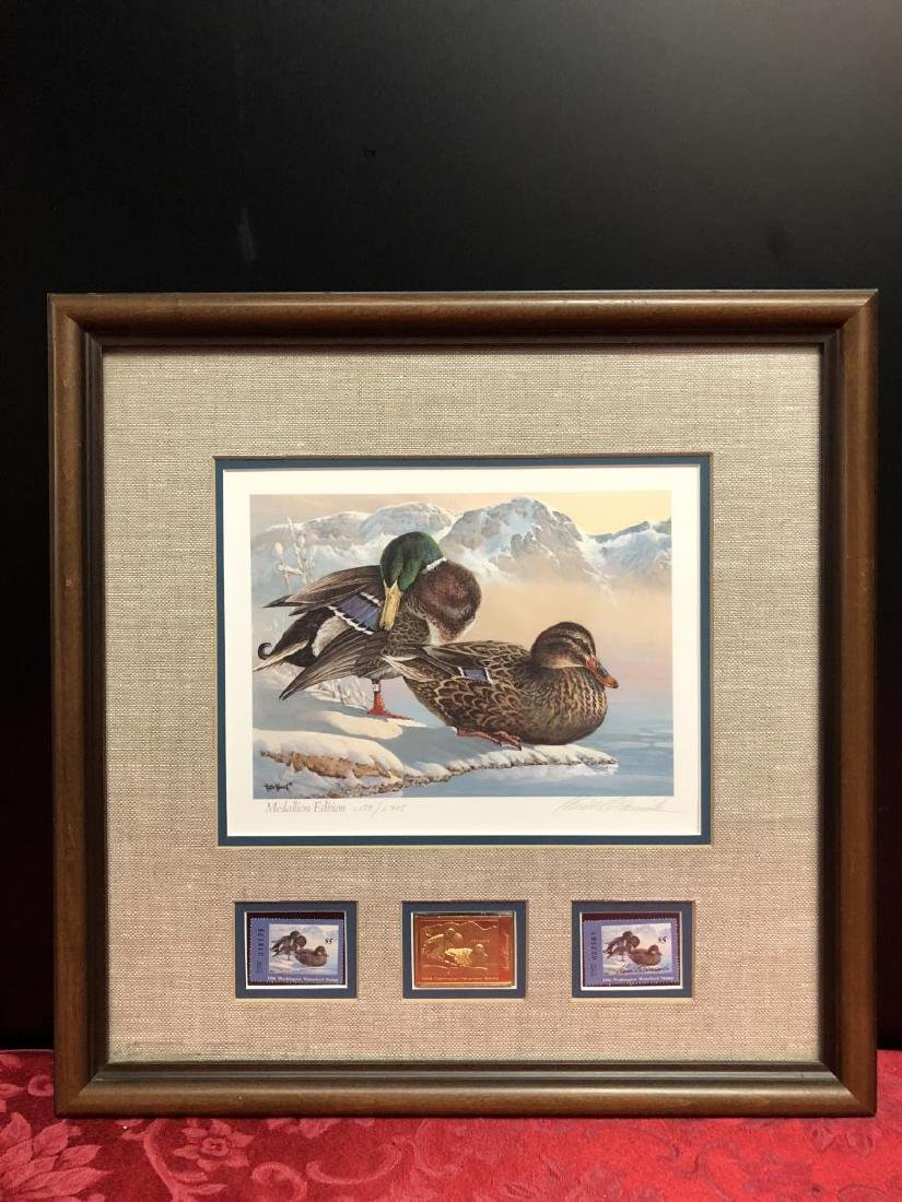 Lot of 3 Duck Stamp Prints 1985 1986 1988 - 5