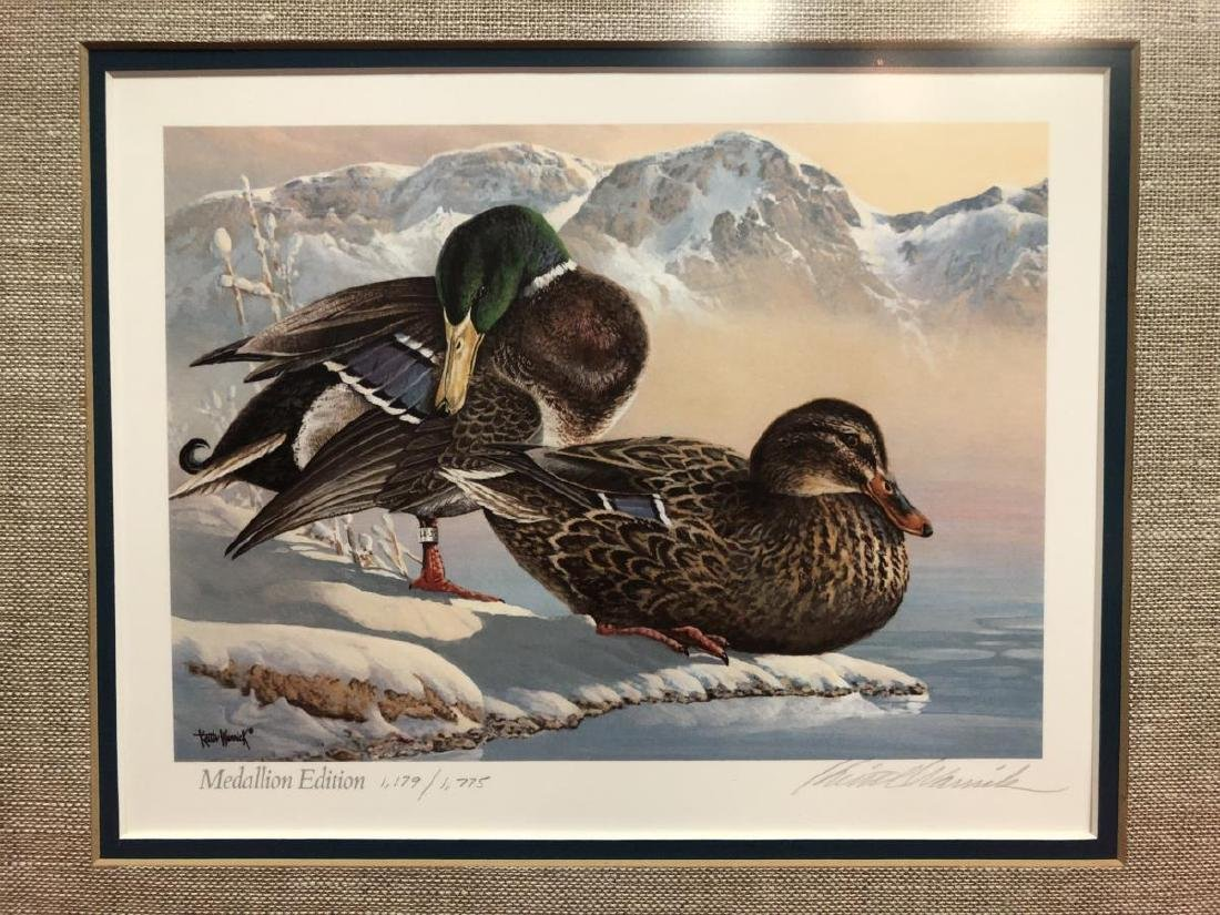 Lot of 3 Duck Stamp Prints 1985 1986 1988 - 6