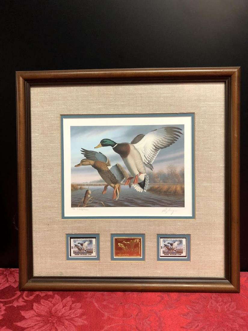 Lot of 3 Duck Stamp Prints 1985 1986 1988 - 8