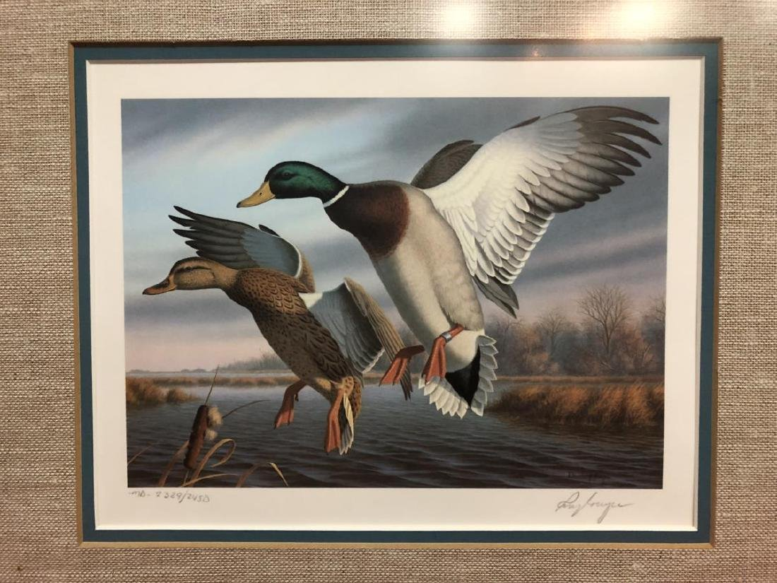 Lot of 3 Duck Stamp Prints 1985 1986 1988 - 9