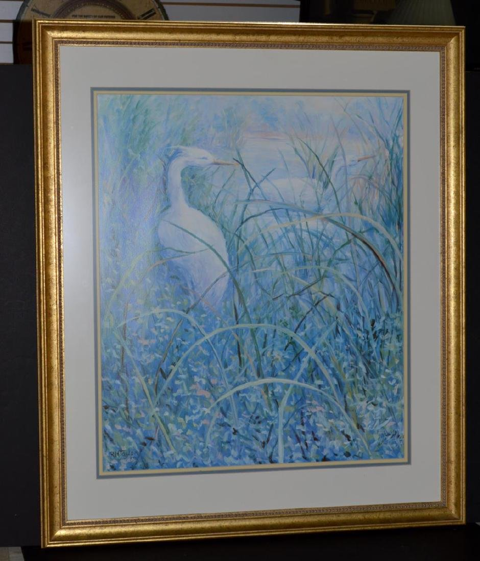 "Signed ""The Birds"" Litho by Ruth Mueller Taylor"