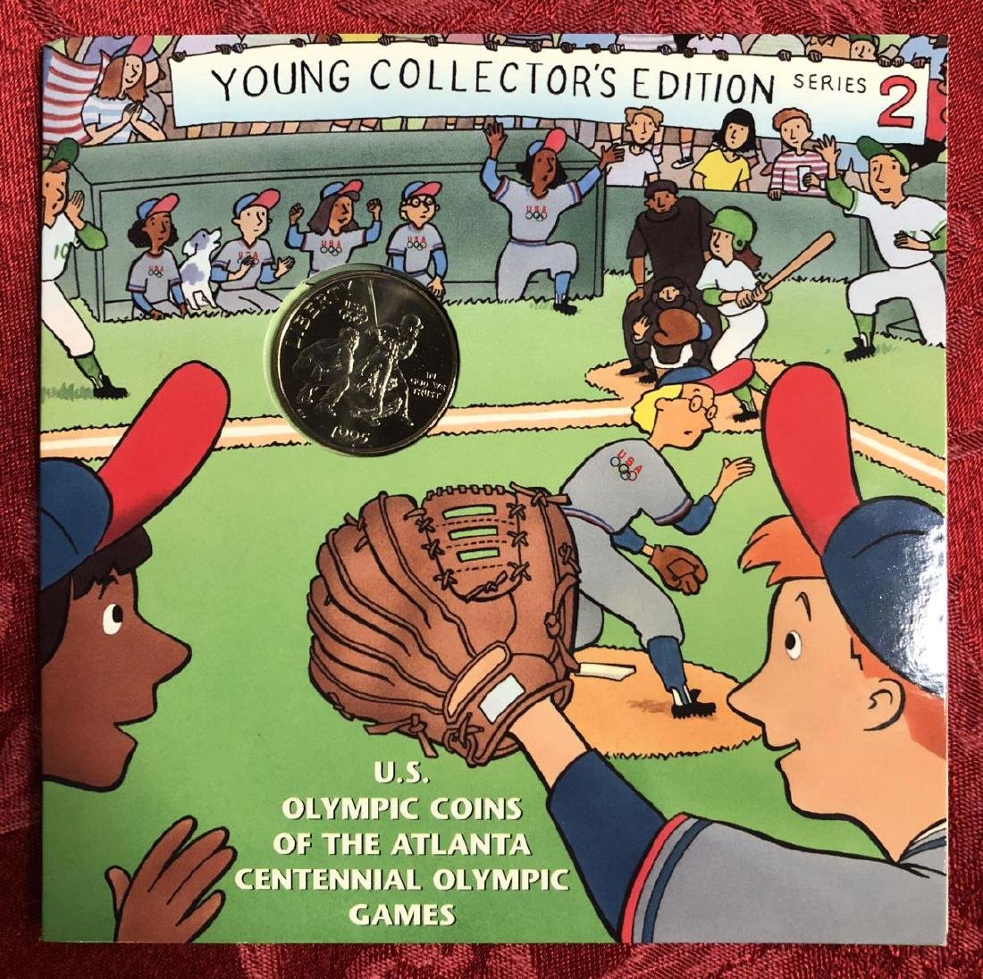 1995-1996 Olympics Young Collectors Coins Set - 4
