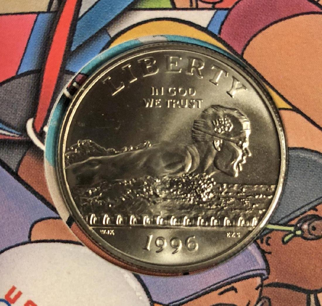 1995-1996 Olympics Young Collectors Coins Set - 7