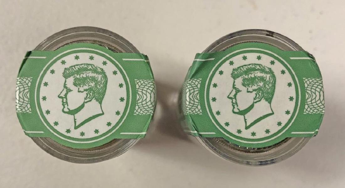 2013 & 2014 Uncirculated Kennedy Half Roll Pair - 3
