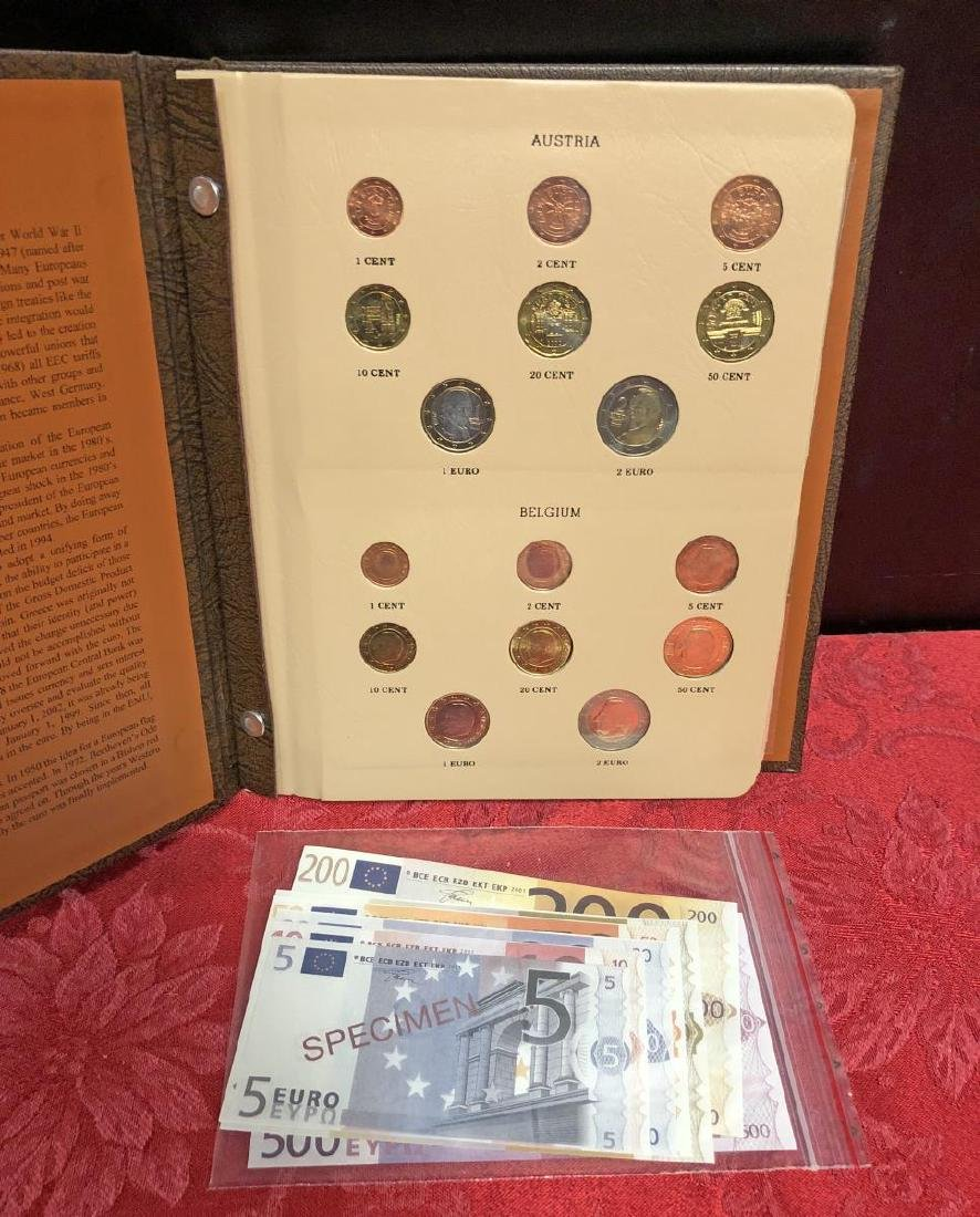 Awesome European Coinage EURO Coin Set