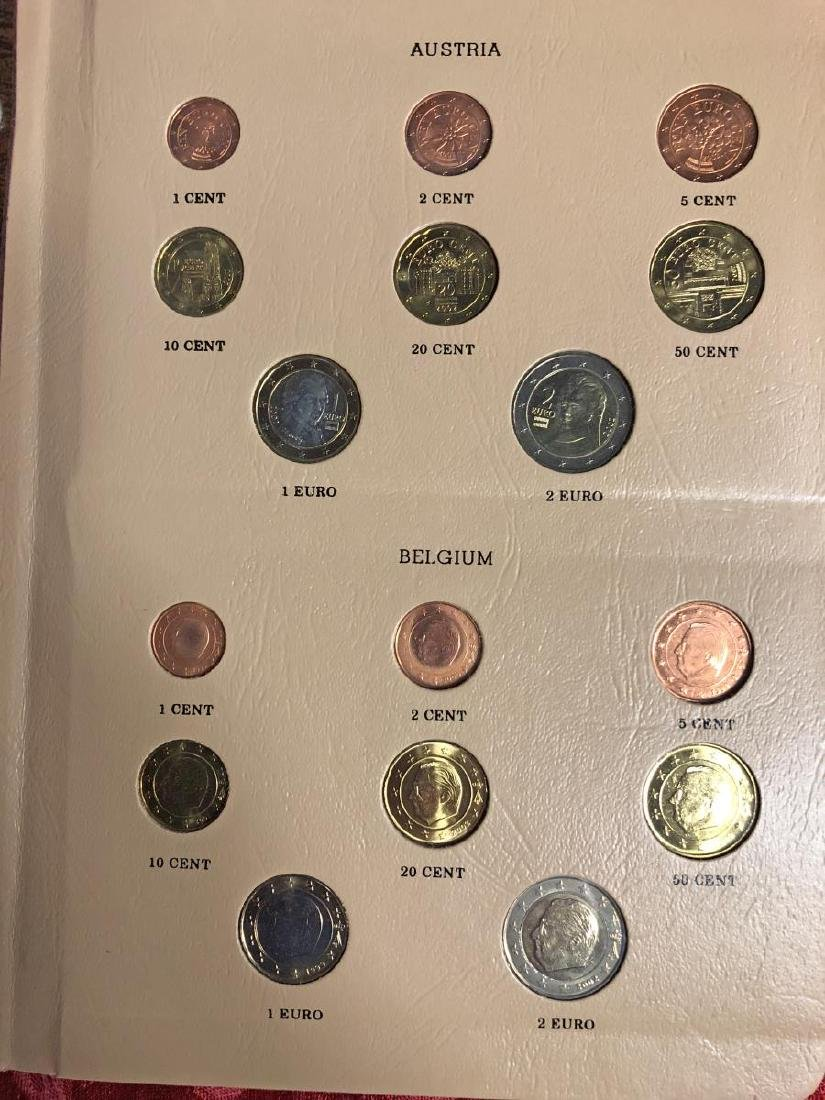 Awesome European Coinage EURO Coin Set - 2