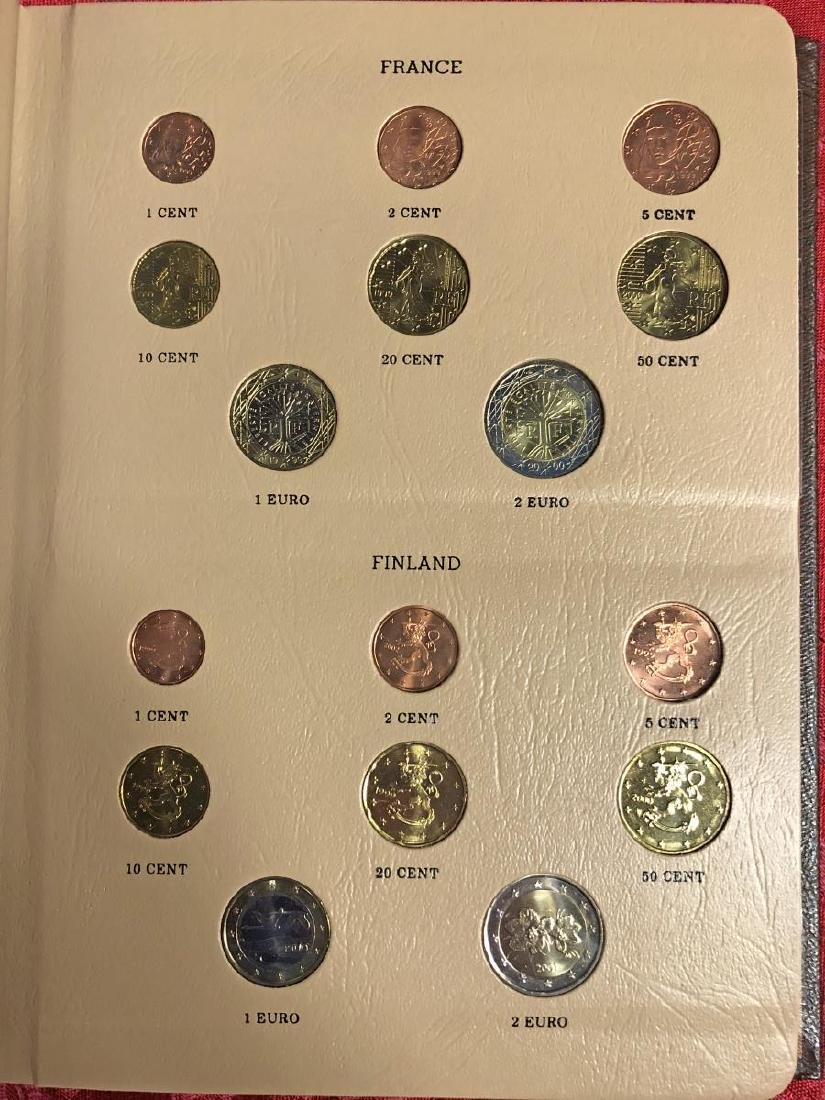 Awesome European Coinage EURO Coin Set - 3