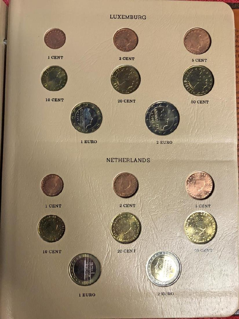Awesome European Coinage EURO Coin Set - 6