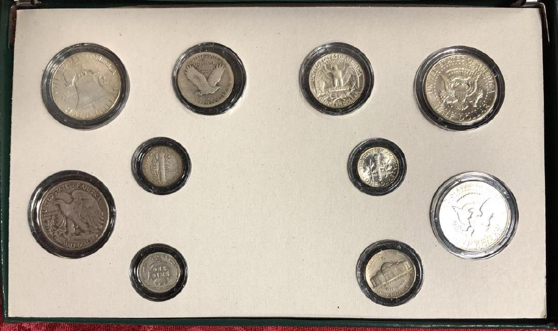 100 Years of US Silver Coins Presentation Set - 3