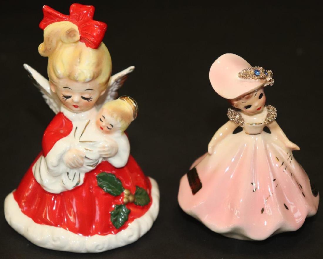 Fenton Crystal Kissing Cousins & 2 Ceramic Pieces - 5