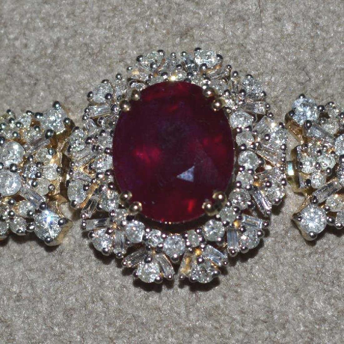 Ruby and Diamond Bracelet - 3