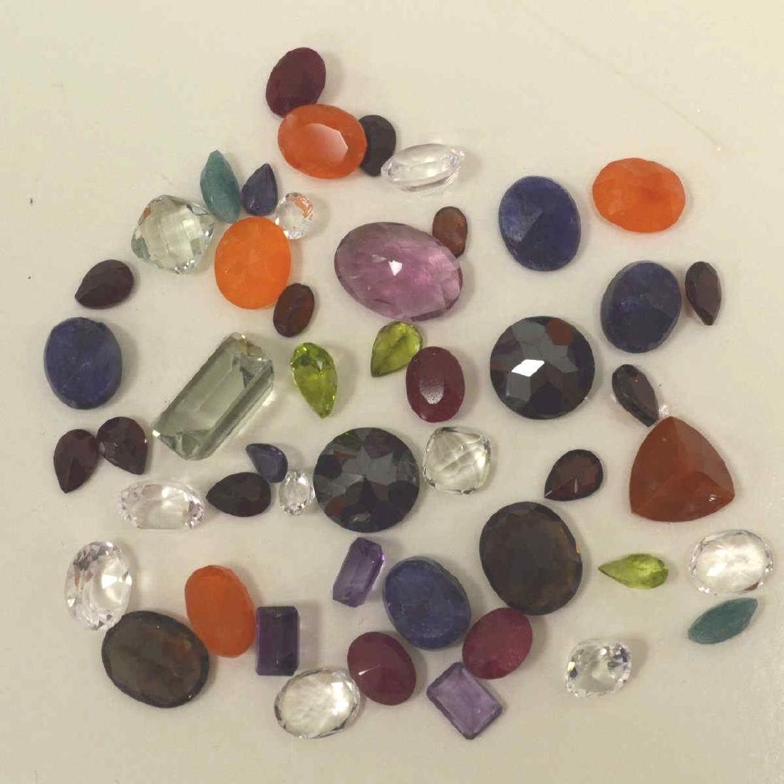 Loose 100ct lot of mixed stones
