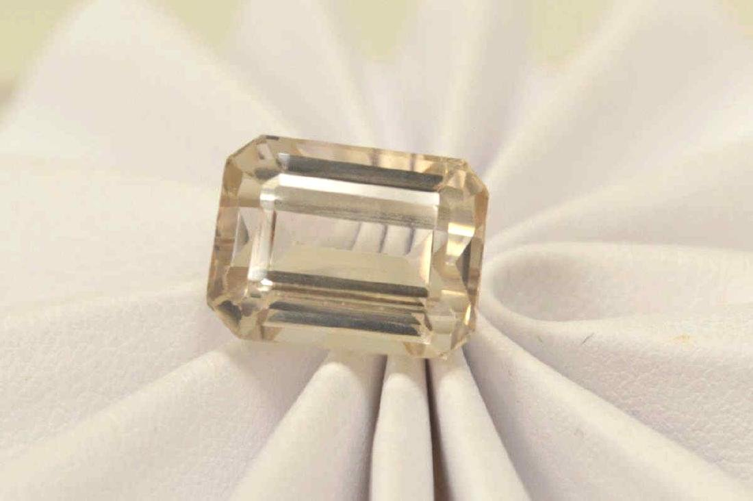 Loose 13.50ct Imperial Topaz