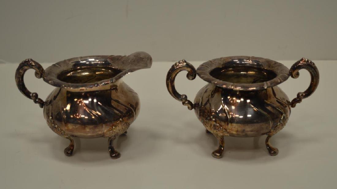 Norwegian 830 Silver Tea Pot, Creamer & Sugar - 3