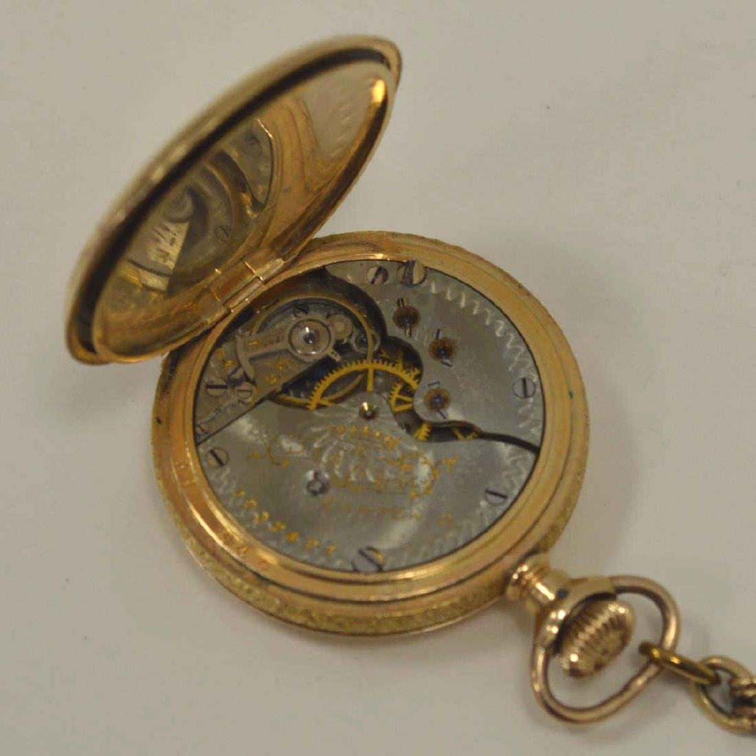 Lot of gold plated pocket watches - 4