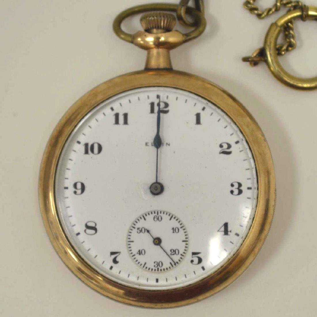 Lot of gold plated pocket watches - 7