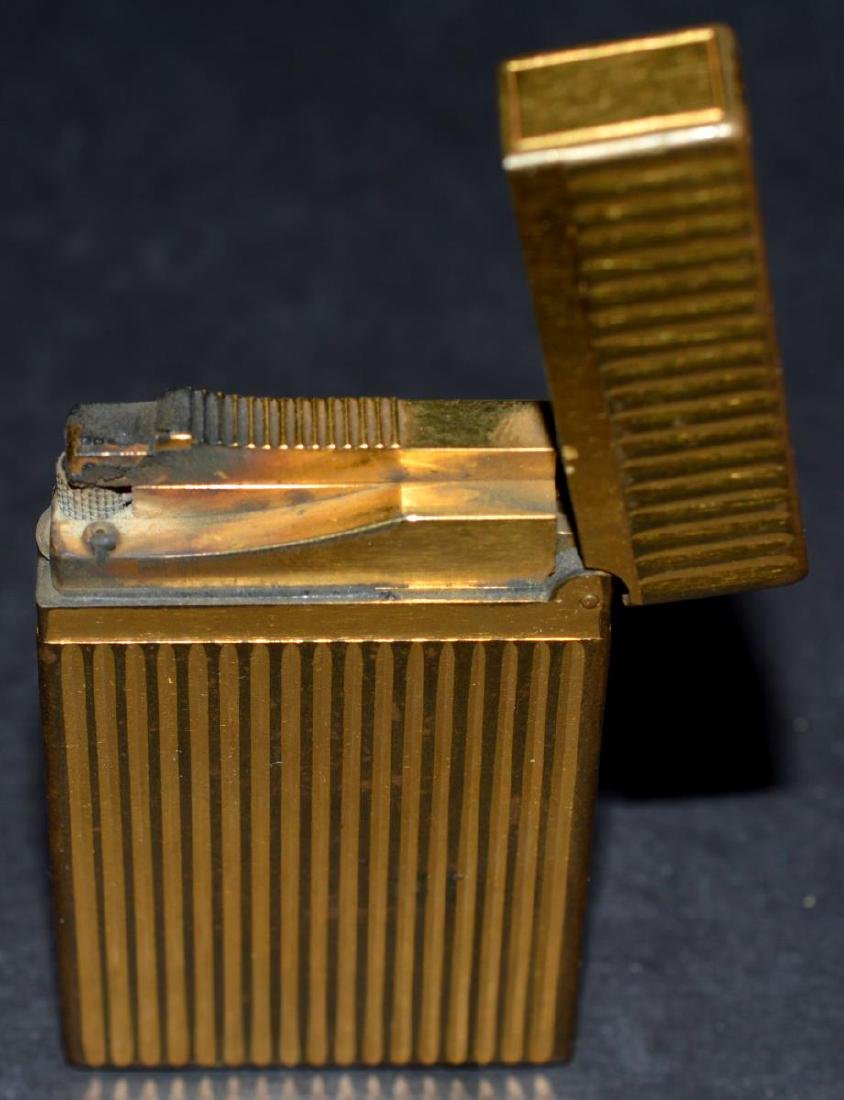 "S.T. Dupont ""Line 2"" Gold Lighter w/Box & Papers - 6"