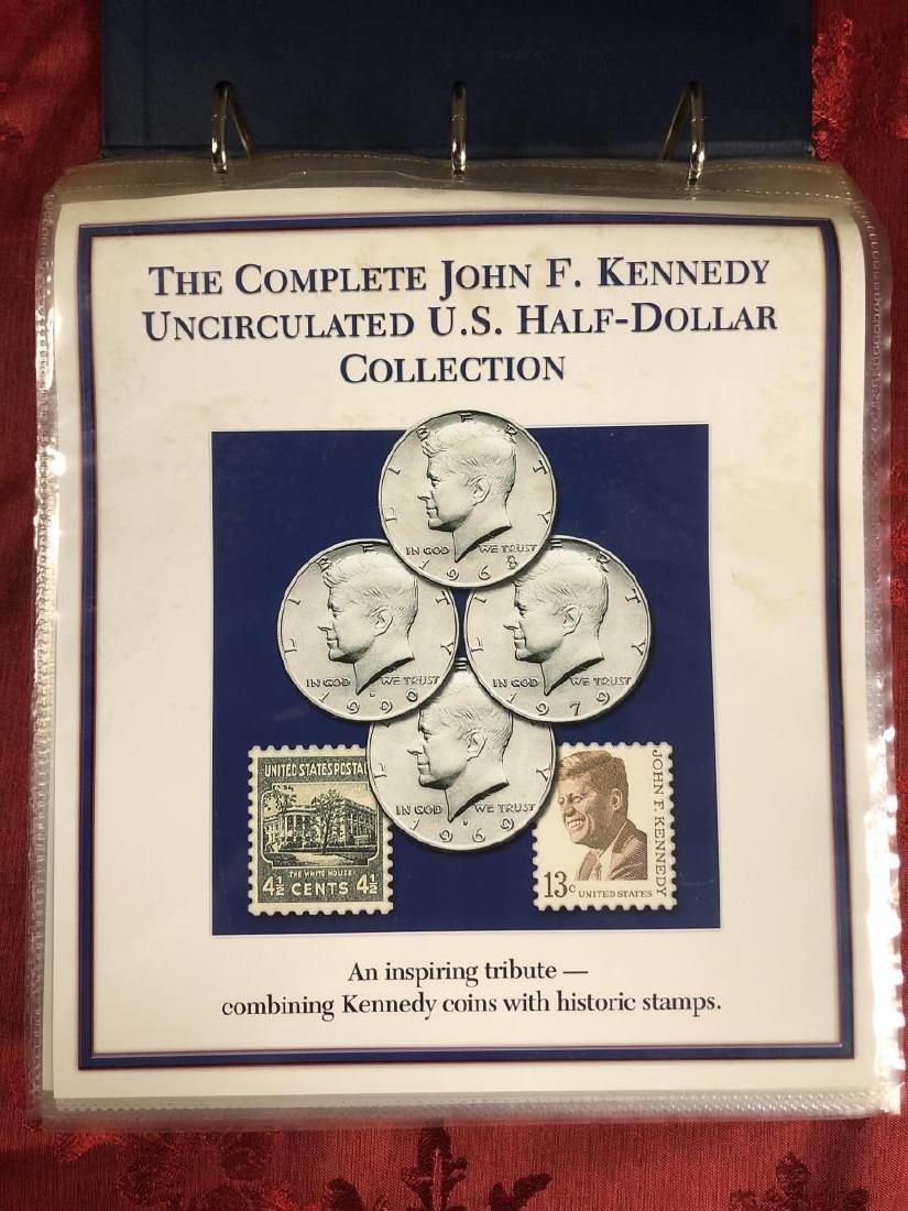 John F. Kennedy Half Dollar Educational Collection - 2