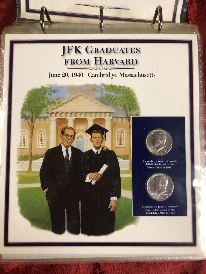 John F. Kennedy Half Dollar Educational Collection - 3