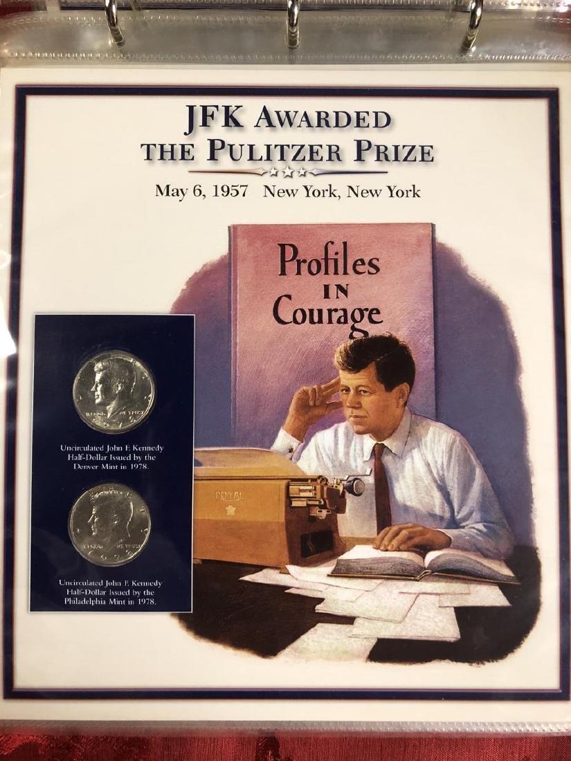 John F. Kennedy Half Dollar Educational Collection - 5