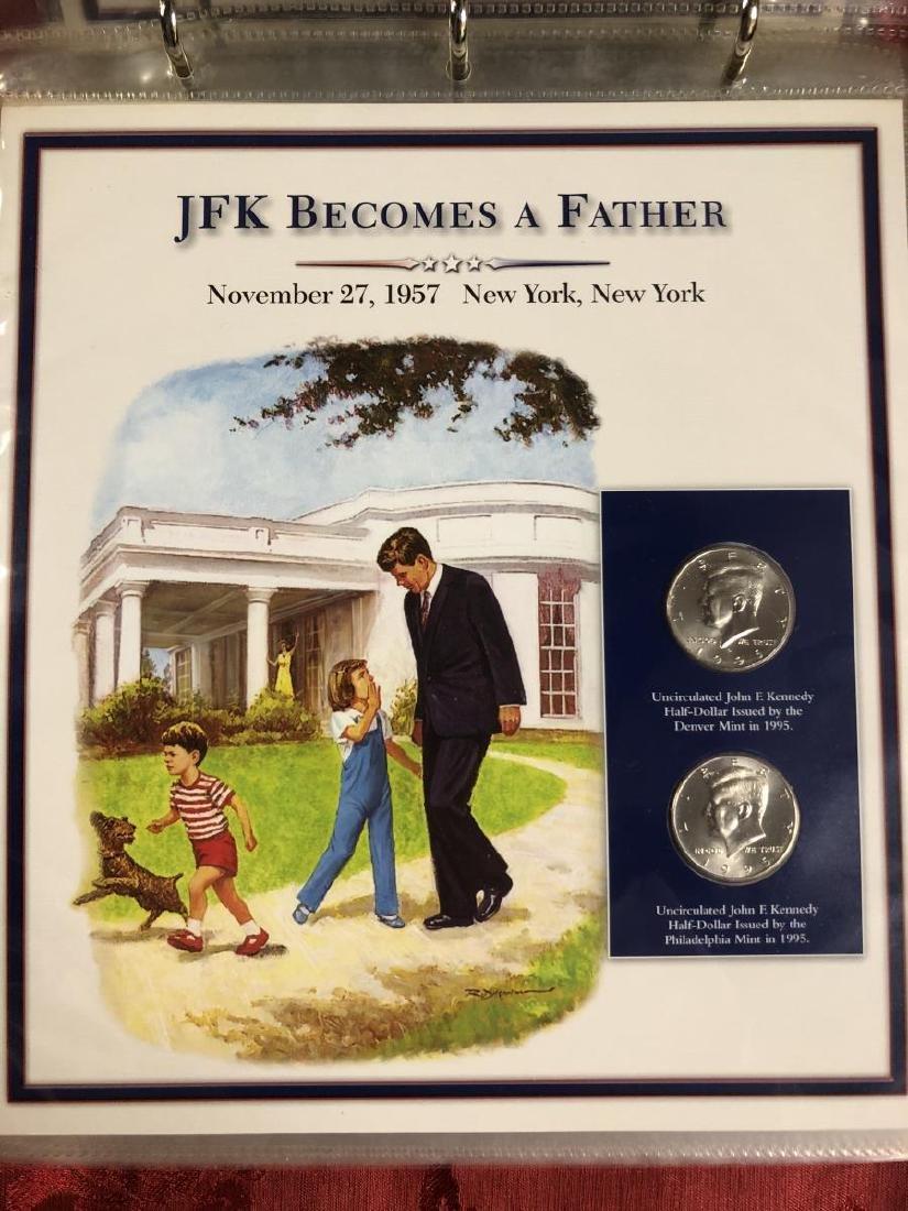 John F. Kennedy Half Dollar Educational Collection - 6