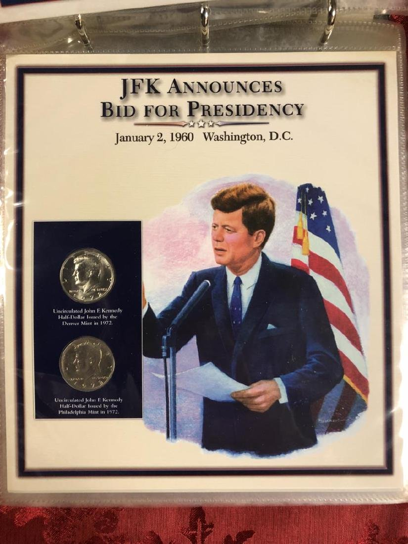 John F. Kennedy Half Dollar Educational Collection - 7