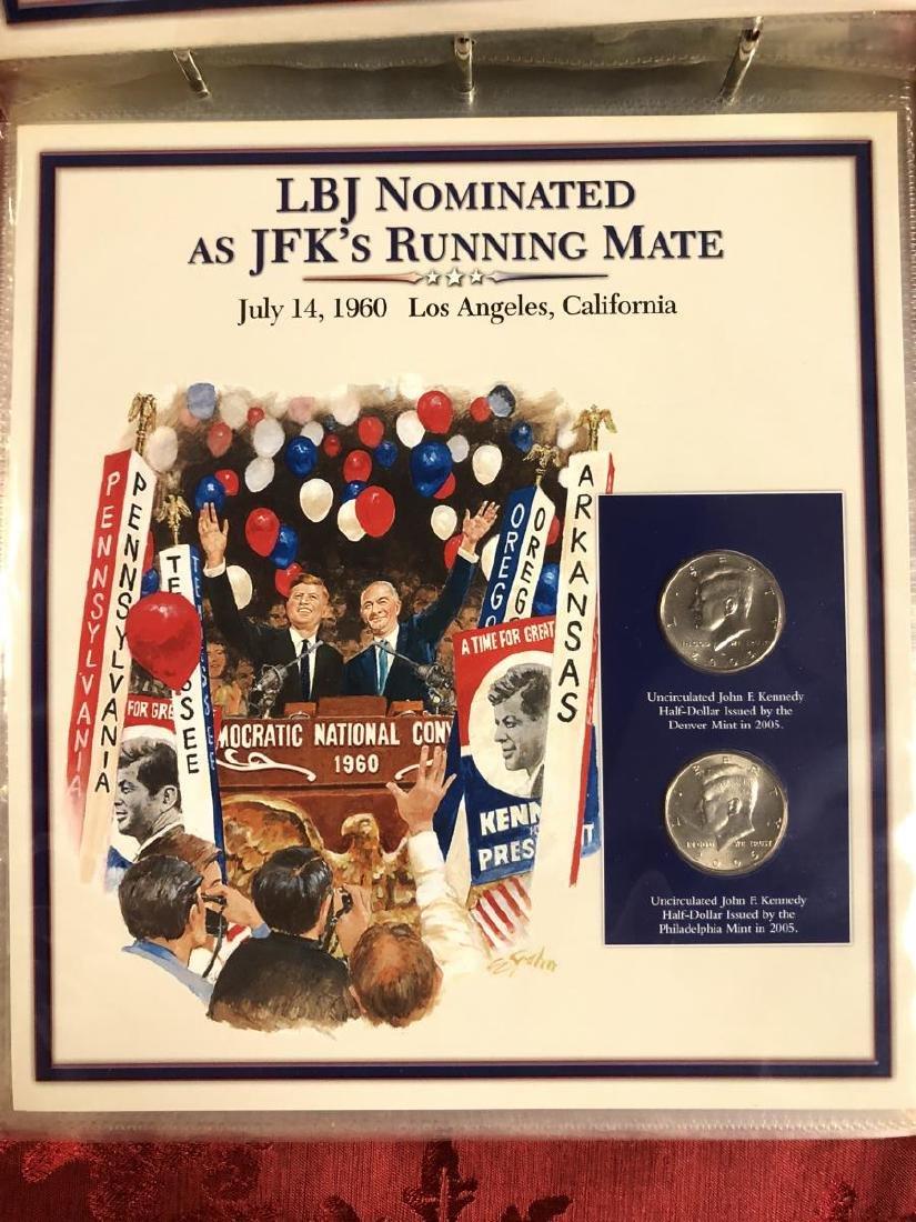 John F. Kennedy Half Dollar Educational Collection - 8