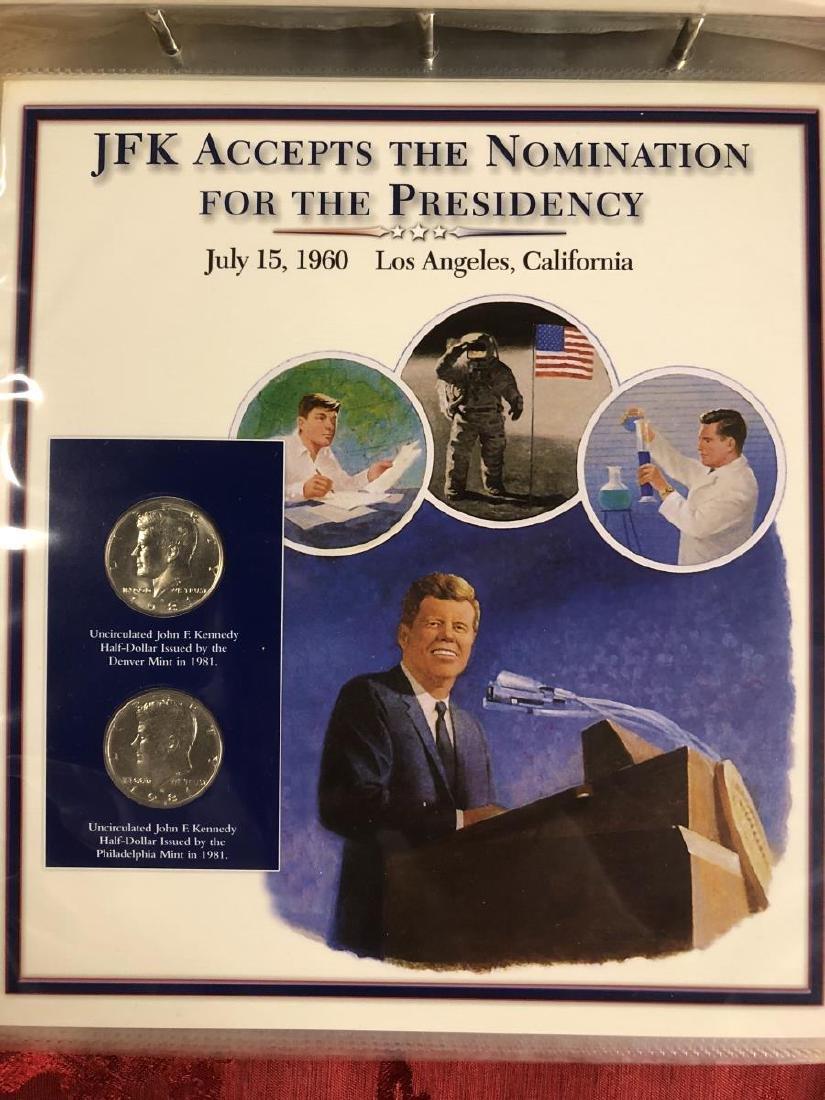 John F. Kennedy Half Dollar Educational Collection - 9