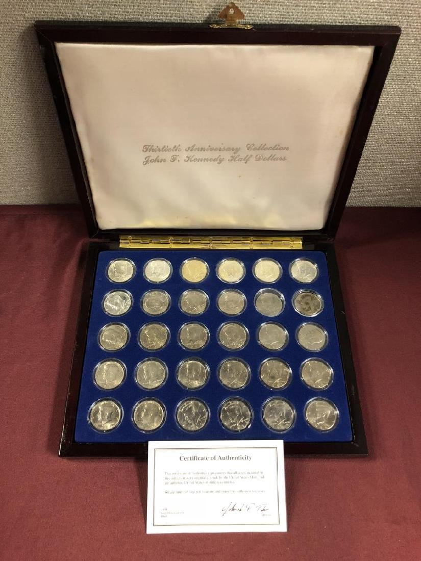 John F. Kennedy 30th Anniversary Half Collection