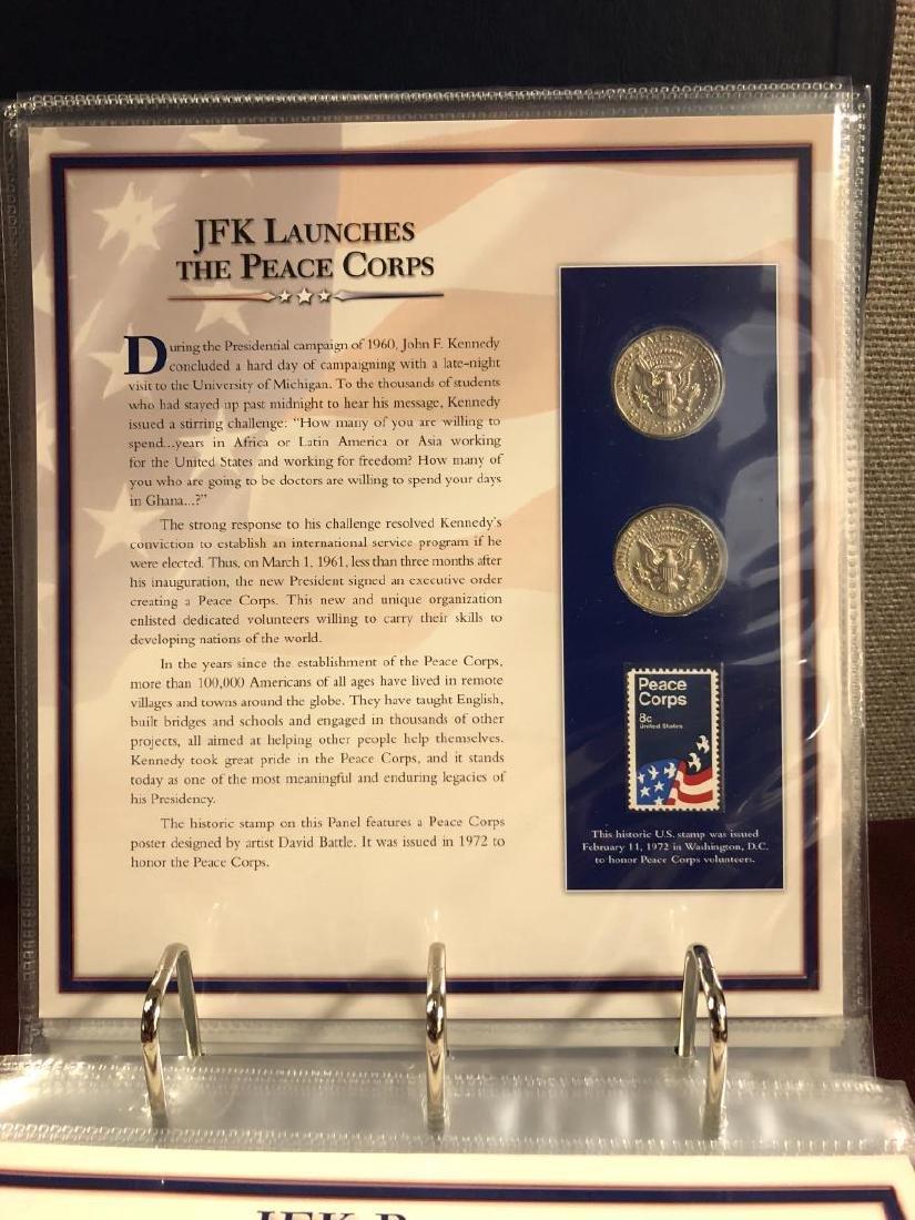 John F. Kennedy Half Educational Album - 10