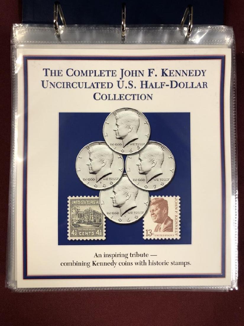John F. Kennedy Half Educational Album - 2