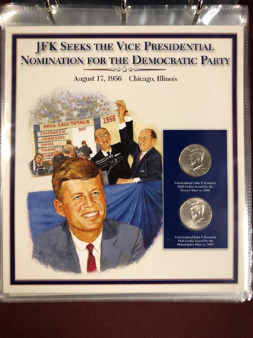John F. Kennedy Half Educational Album - 3