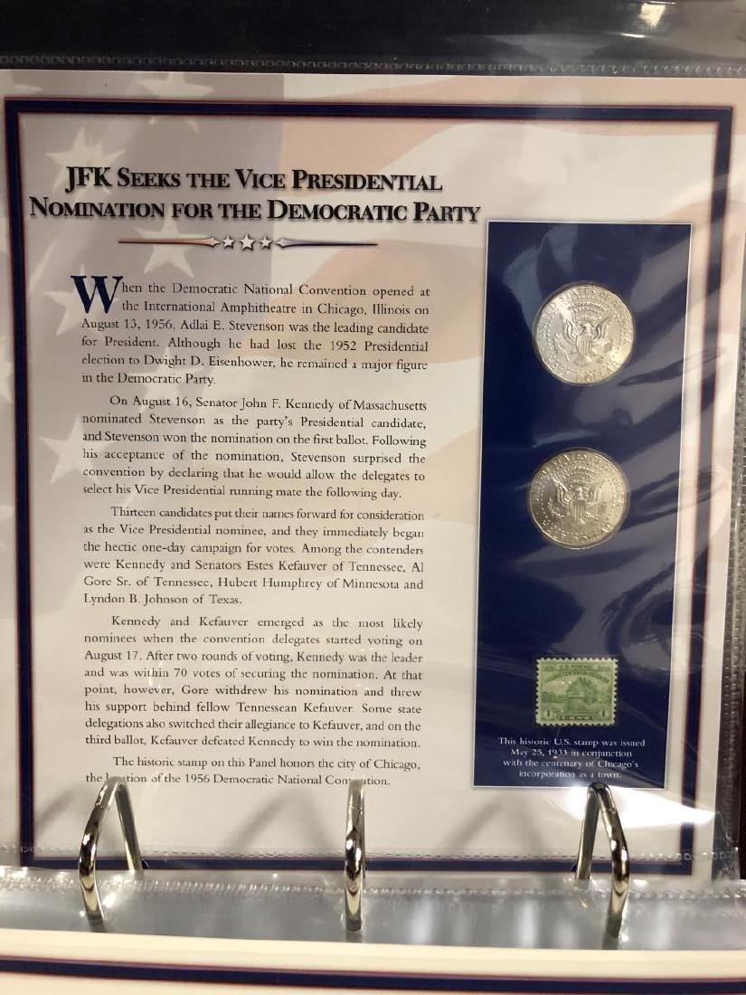 John F. Kennedy Half Educational Album - 4