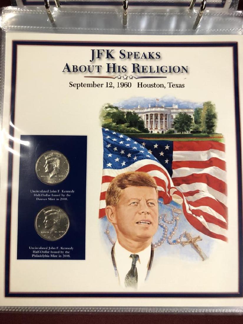 John F. Kennedy Half Educational Album - 5