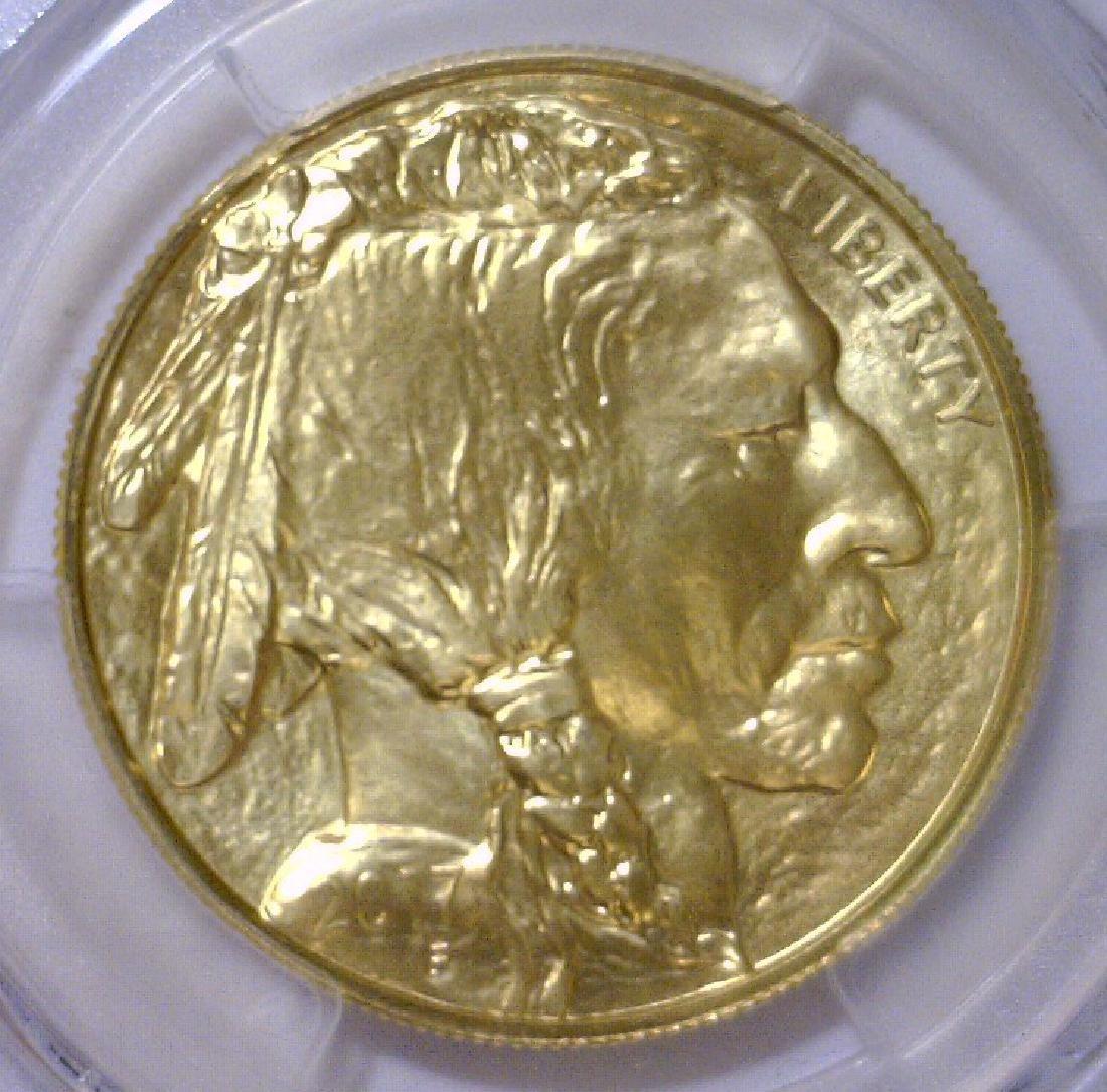 2017 $50 Gold Buffalo James Fraser Label PCGS MS70 - 3