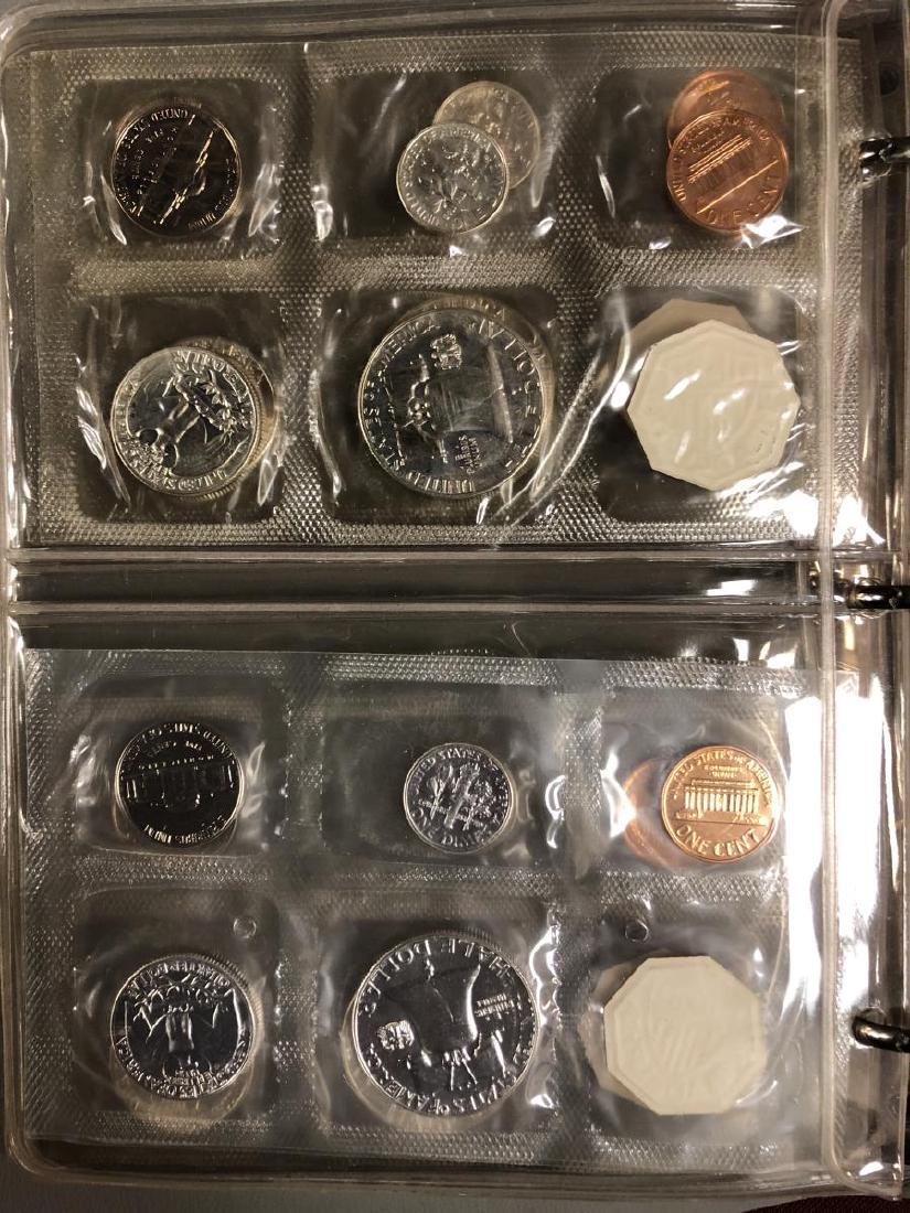 1957 - 1964 Silver Proof Set Collection in Folio - 5