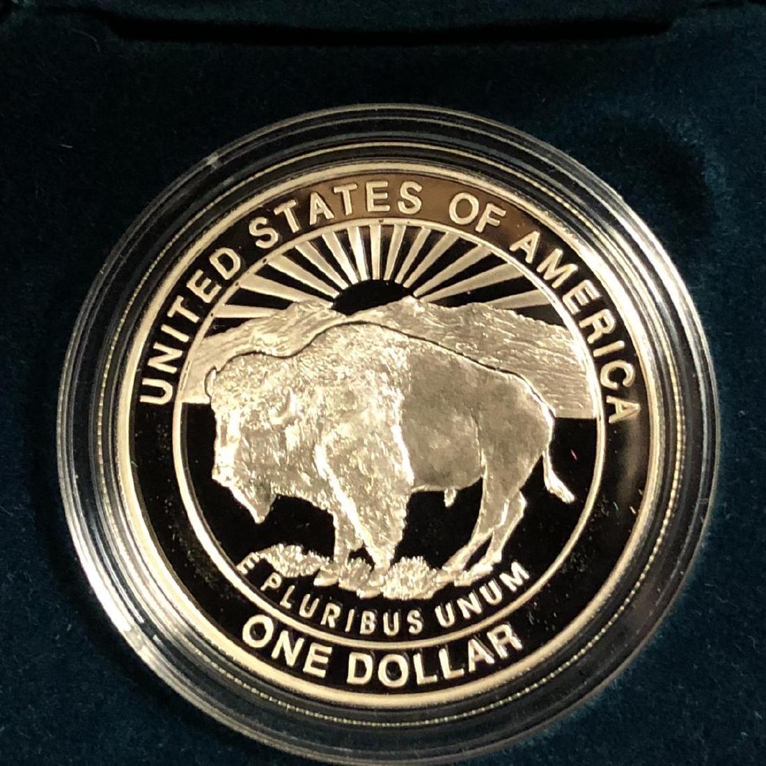 1999 Yellowstone Commemorative Proof Silver $1 - 3