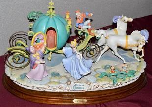 Disney Laurenz Arzenton Capodimonte Cinderella