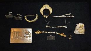 Lot of Shriner costume jewelry