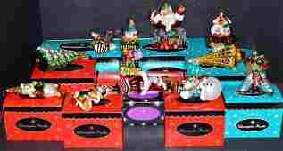 11 Christopher Radko Christmas Ornaments wBoxes