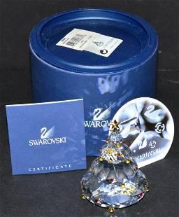 Swarovski Crystal Christmas Tree 266945 with Box