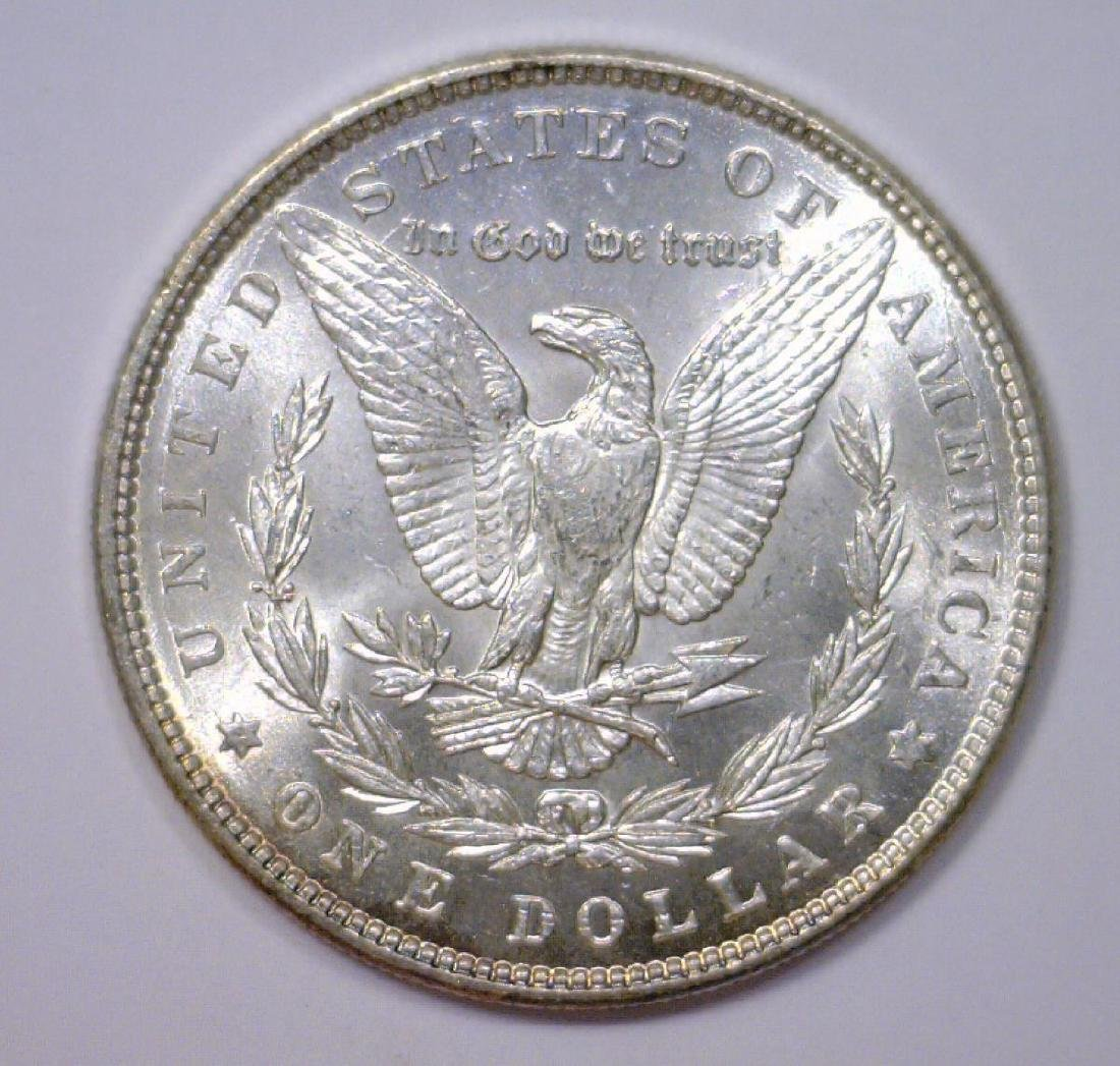1887 Morgan Silver Dollar UNC Uncirculated BU - 2